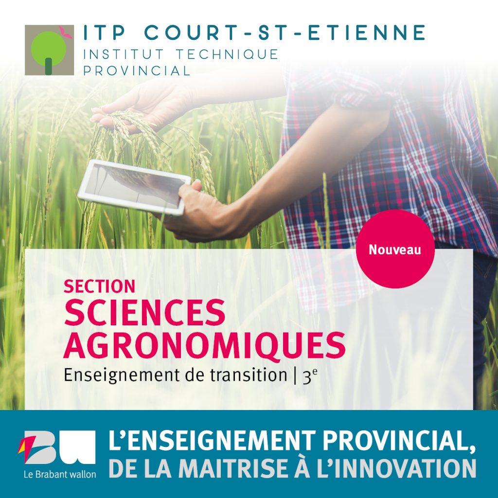 Nouveau: 3e sciences agronomiques