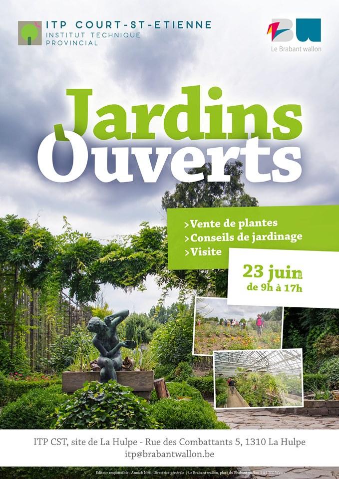Jardins ouverts le dimanche 23 juin 2019, de 9h à 17h. Rue des combattants, 5 à 1310 La Hulpe.